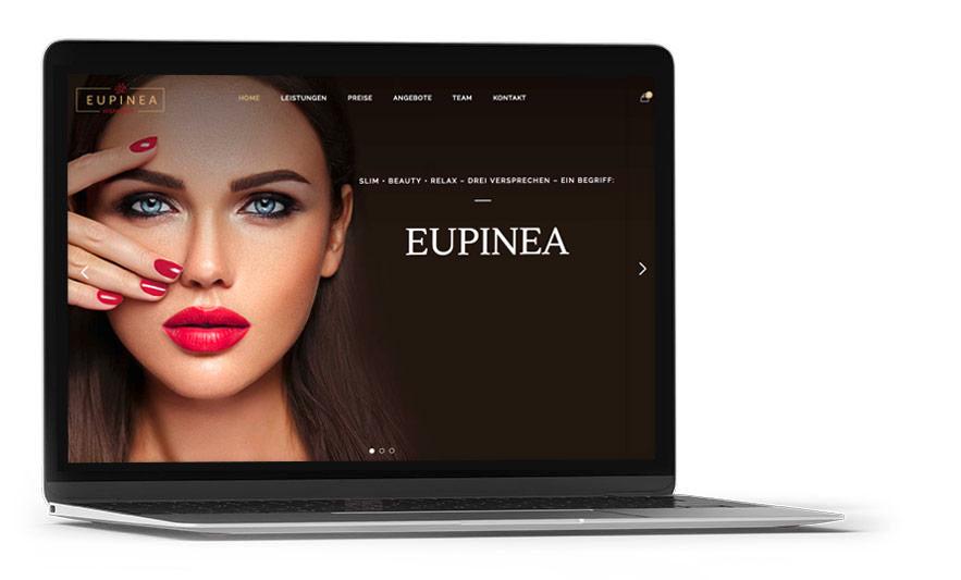 Ramses Werbeagentur Webdesign, Referenz, Salzburg, Eupinea, Design, Grafik, Onlinemarketing, Online, Marketing, Werbung