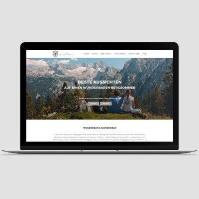 Gasthof Gosauschmied Webseite, Referenz Werbeagentur Ramses, Salzburg, Onlinemarketing, Webseite, Grafik, Web, Online, Marketing, Werbung