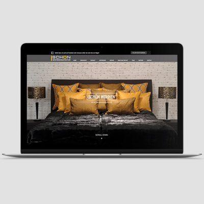 Schön Wohnmanufaktur Webseite, Referenz Werbeagentur Ramses, Salzburg, Onlinemarketing, Webseite, Grafik, Web, Online, Marketing, Werbung
