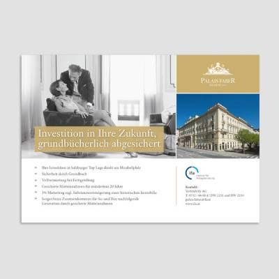 Ramses Werbeagentur, ifa, Palais Faber, Inserat,Salzburg